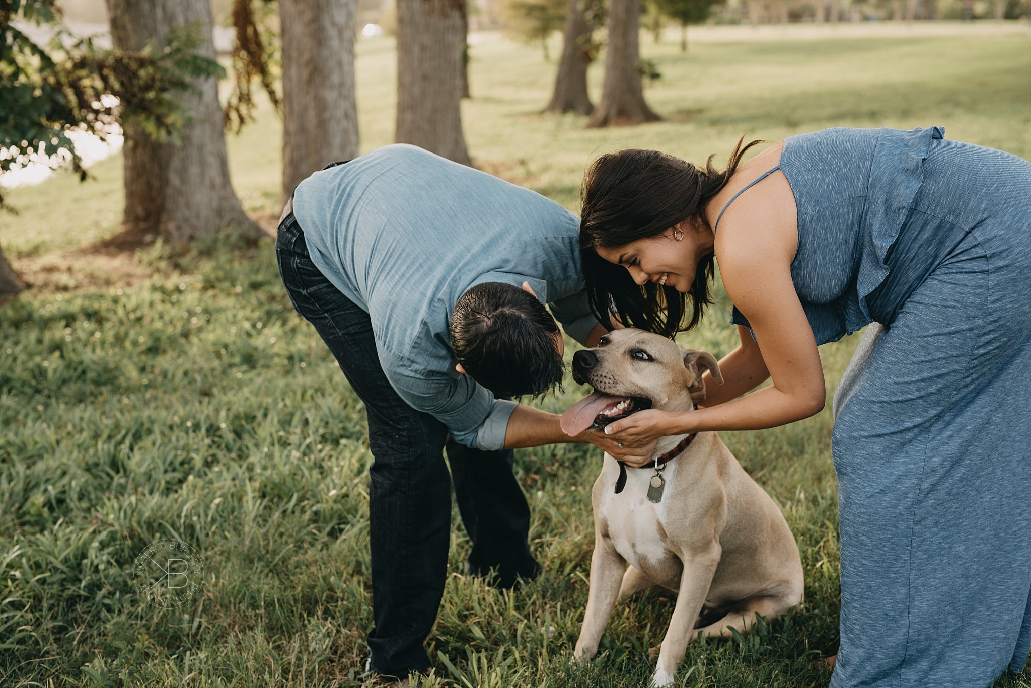 maternity session with fur baby