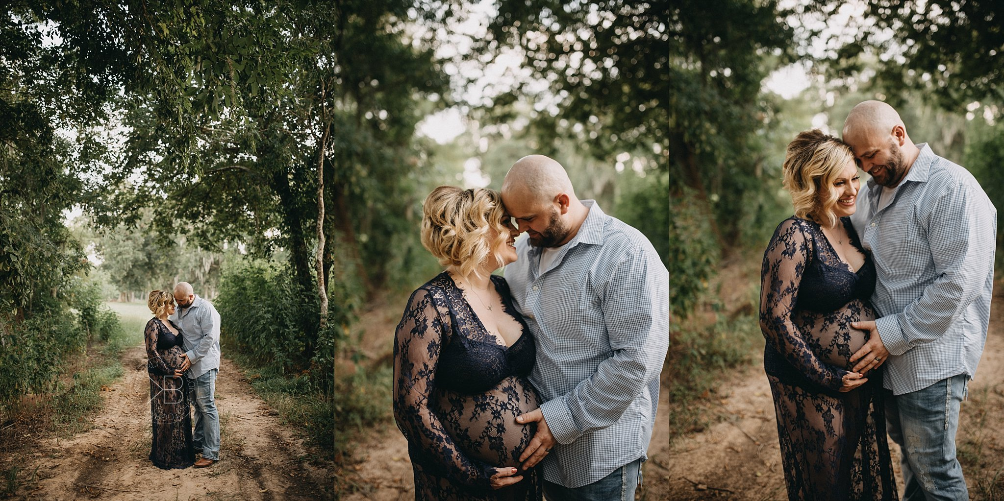 Houston Texas Maternity Photographer Rustic Path Location
