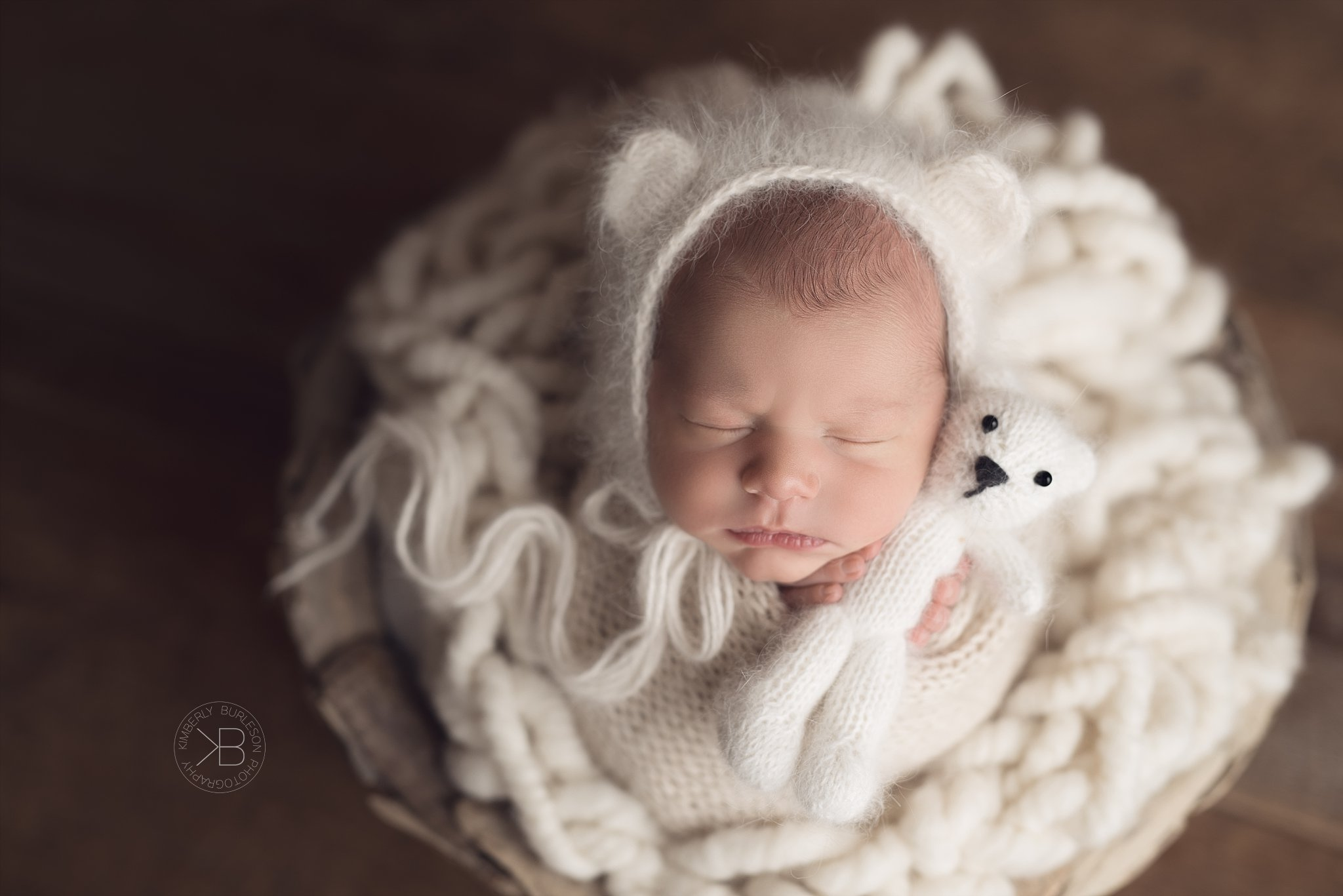 houston baby boy newborn photo shoot neutral colors kimberly burleson photography
